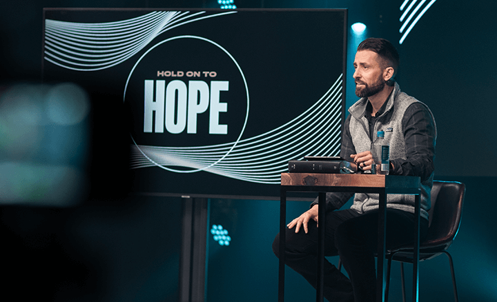 Watch Hold on to Hope video